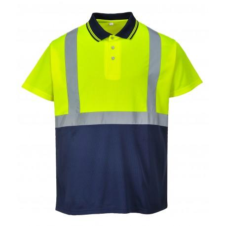 -koszulka-polo-dwukolorowa-portwest-s479n